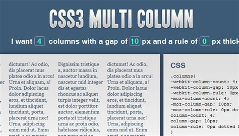 layout 3 kolom css an introduction to the css3 multiple column layout module