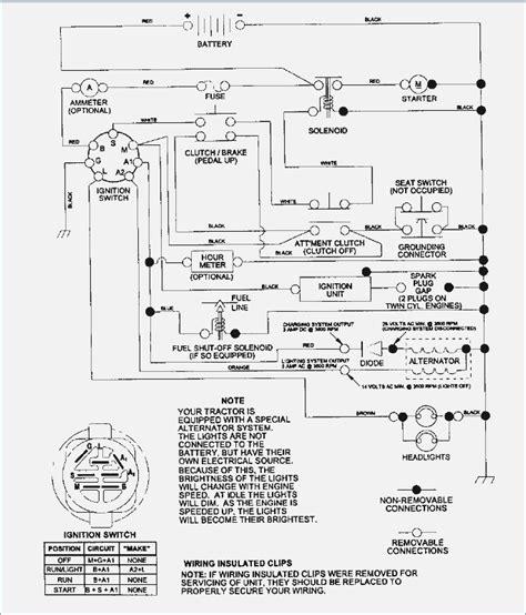 craftsman lt 1000 schematic wiring diagrams repair