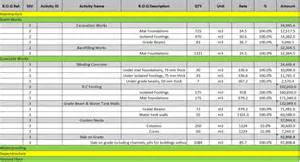 Project Activity List Template Excel Work Breakdown Structure Excel Viewing Gallery