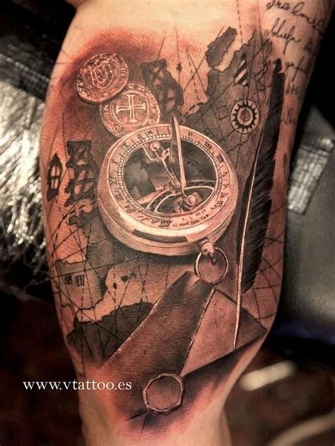 tattoo 3d mapping 121 best images about reiseziele on pinterest compass