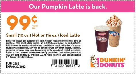 Looking for Dunkin Donut Coupons?   Coupon Codes Blog