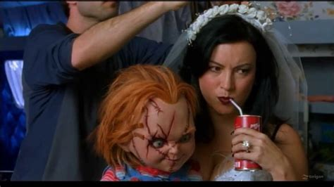movie chucky cast one way or another seed of chucky music clip cast