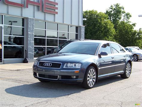Audi A8 2004 by 2004 Audi A8 Blue 200 Interior And Exterior Images