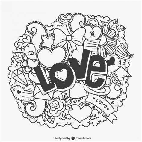 imagenes vectoriales de amor dibujos de amor descargar vectores gratis
