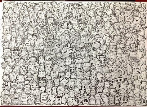 doodle untuk mading contoh gambar doodle gontoh