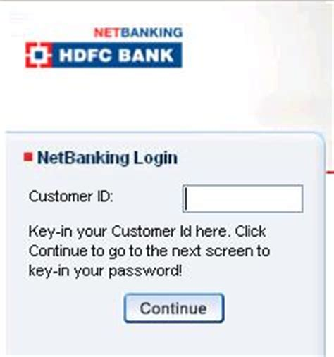 welcome hdfc bank netbanking hdfc netbanking login page