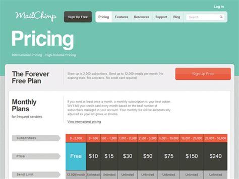 Designing Pricing Plans For Subscription Based Web Apps | designing pricing plans for subscription based web apps