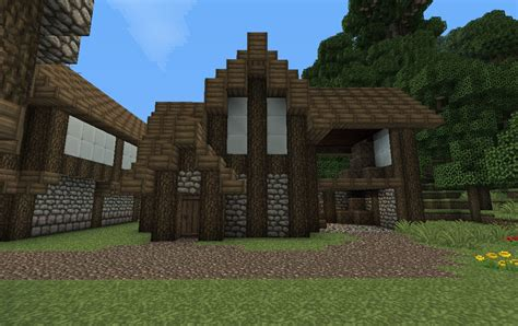Barns Designs by Medieval Barn Minecraft Project