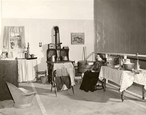 Vintage Kitchen Canister victorian kitchen museumvillage