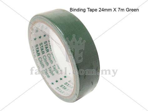24mm X 6m binding 24mm x 6m green fauzul enterprise