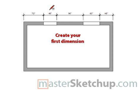 sketchup layout offset dimensions and auto scale confusion layout sketchup