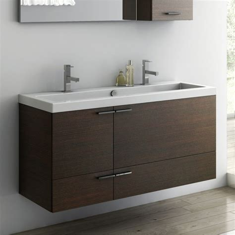 47 bathroom vanity 47 inch vanity cabinet with fitted sink contemporary