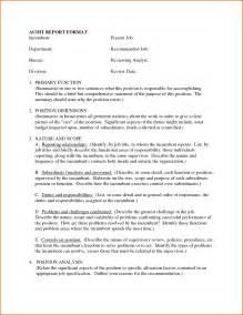 Report Letter Format 5 Business Report Format Authorizationletters Org