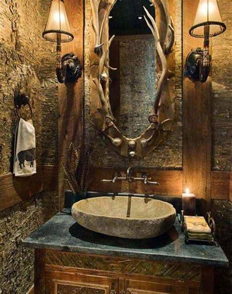 cabin themed bathroom decor 30 inspiring rustic bathroom ideas for cozy home amazing
