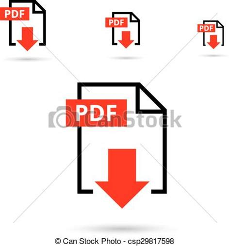 what file format is video clip eps vectors of pdf file download icon document text