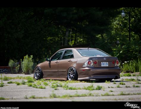 2002 lexus is300 stance banned in quebec matt brunett s is300 stance is everything