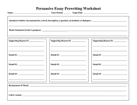 Essay Writing Activities by Other Worksheet Category Page 121 Worksheeto