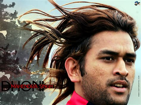 dhoni hairstyles images cricket 2011 worldcup dhoni new wallpapers