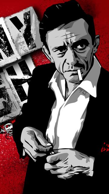 wallpapers  wallpaper johnny cash vector