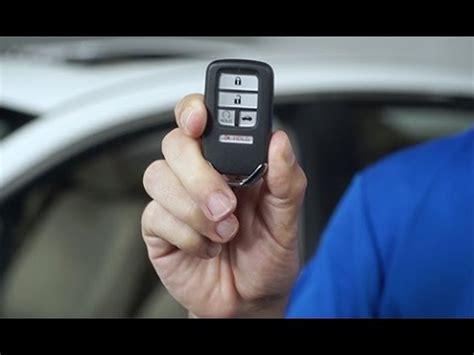 honda accord tips tricks remote start  remote entry smart key fob youtube
