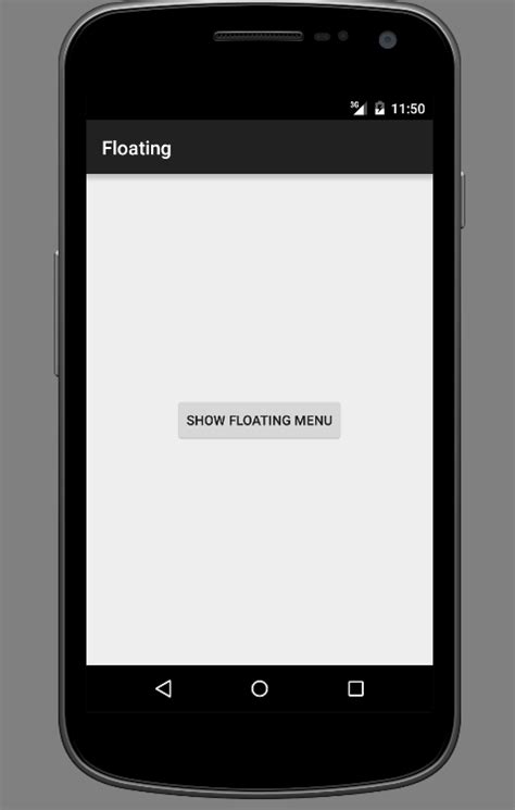 Floating Window In Android