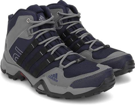 Adidas Ax2 Outdoor Shoes Grey - adidas ax2 mid outdoor shoes buy nt navy visgray color
