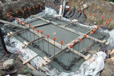 how to pour a basement foundation foundation foundation concrete pour
