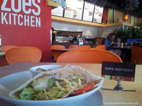 Zoes Kitchen Ga by Zoe S Kitchen Club Pita Reviewed At Club Sandwich Reviews