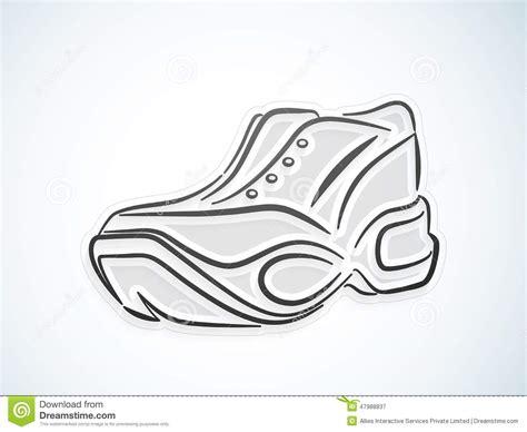 athletic shoe design sports shoes design stock illustration image 47988837