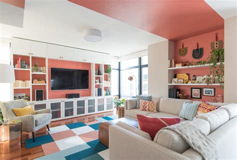 Decoration Mur Interieur Salon 2471 by Contemporary Family Room