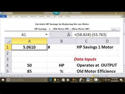 how to calculate motor hp calculate hp sav replacing 1 motor