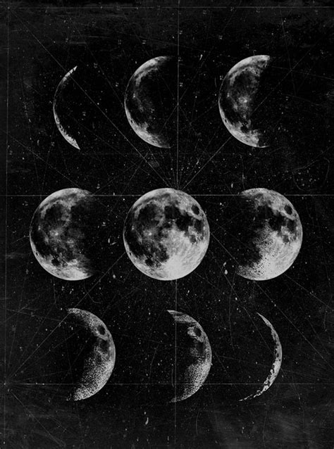 11 best Moon phases images on Pinterest   Moon phases, The
