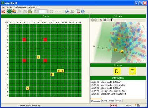 scrabble software scrabble 3d software informer screenshots