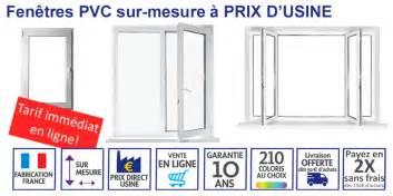 Fenetre Pvc Sur Mesure 1330 by Prix Fenetre Sur Mesure Pvc Maison Travaux