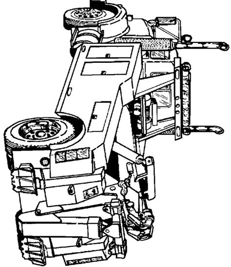 flat bed coloring page flatbed tow truck clip cliparts co