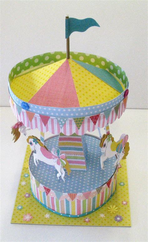 How To Make A Carousel Out Of Paper - 17 best images about carousel on favor boxes