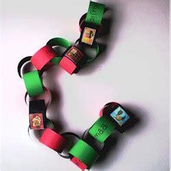 kwanzaa paper chain fun family crafts