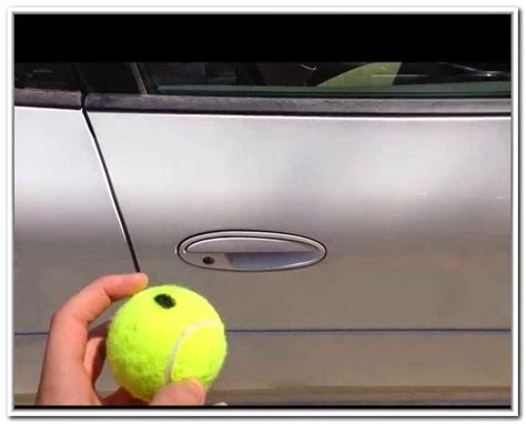 Tennis To Unlock Car Door by The Lock Squad Ledger