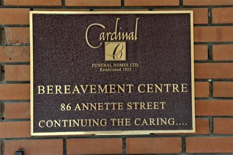 cardinal funeral homes toronto on 366 bathurst st