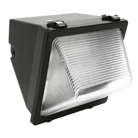 Metal Halide Outdoor Lights Designers Edge Wall Mount Outdoor Die Cast Aluminum Metal Halide Wall Light L1762mh The Home Depot