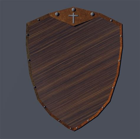 woodworking shield 3d other shield wood wooden