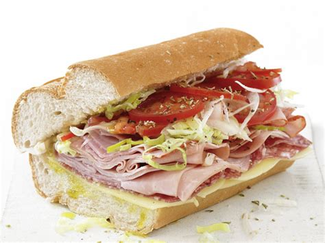 my favorite things classic italian sub