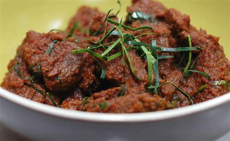 Daging Rendang Beku masakan tradisi citarasa asli siap dimasak disejuk beku
