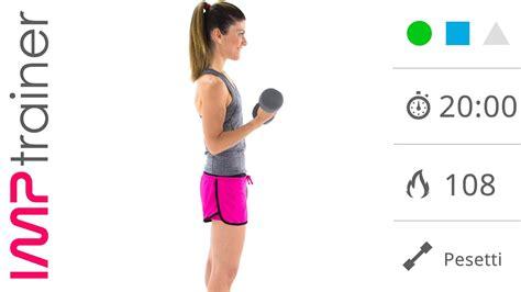 esercizi bicipiti a casa esercizi per le braccia a casa rassodare le braccia con