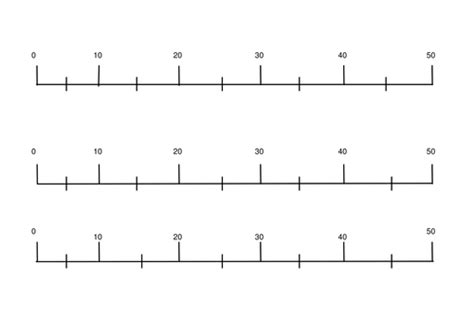 printable number line tes blank num line 0 50 by jomax766 teaching resources tes