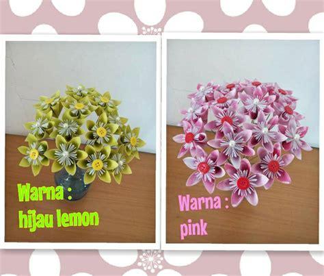 Pajangan Bunga Palsu Artificial Flower Untuk Di Dinding Diskon 6 jual bunga kertas palsu kawat imitasi diy kado unik bagus