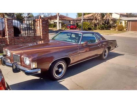 old car manuals online 1973 pontiac grand prix user handbook 1973 pontiac grand prix for sale classiccars com cc 760588