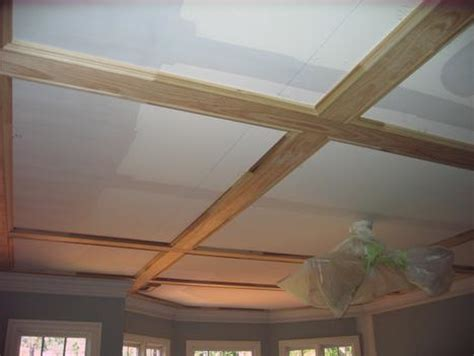 Flat Coffered Ceiling by Coffered Ceilings Trim South Raleigh Nc