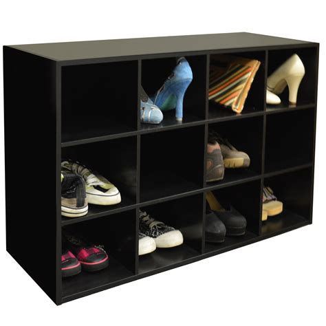 pigeon shoe storage pigeon 12 pair shoe storage cubby display