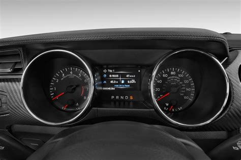 2015 ford mustang base 2015 ford mustang gauges interior photo automotive